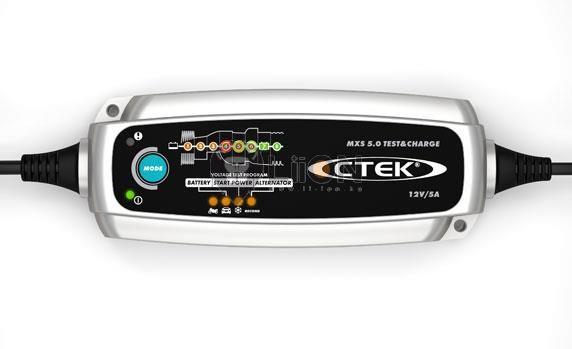 CTEK MXS 5.0 TEST&CHARGE akku töltő és tesztelő