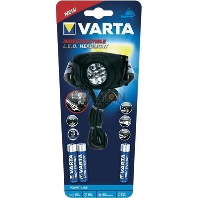 VARTA INDESTRUCTIBLE LED X5 HEAD LIGHT 3AAA fejlámpa - Varta 17730