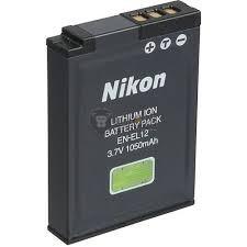 Nikon EN-EL12 utángyártott kamera akku