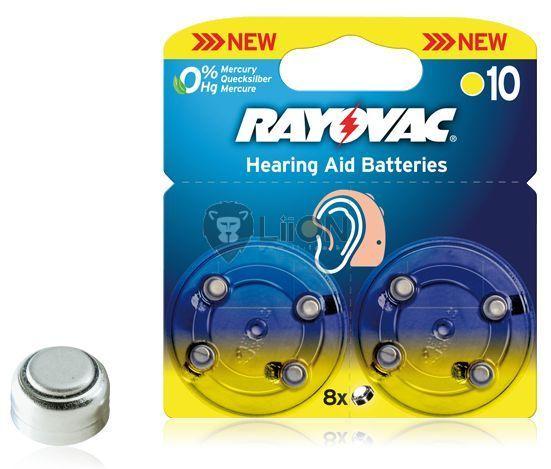 Rayovac Hearing Aid HA10 nagyothalló elem