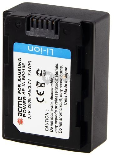 Replacement for SAMSUNG IA-BP105R Samsung HMX-H304BP Series Camcorder Battery
