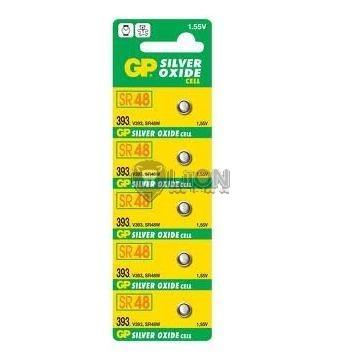 GP SR48 ezüst-oxid gombelem
