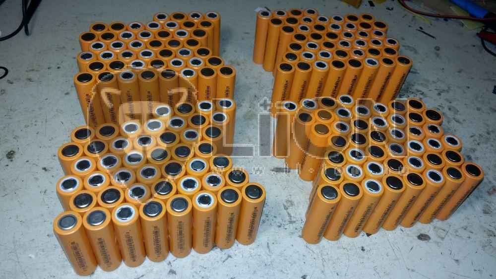 Segway LiFePO4 72,6V Batterierenovierung