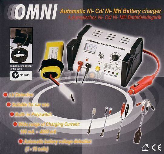 OMNI 7168 MW battery pack charger