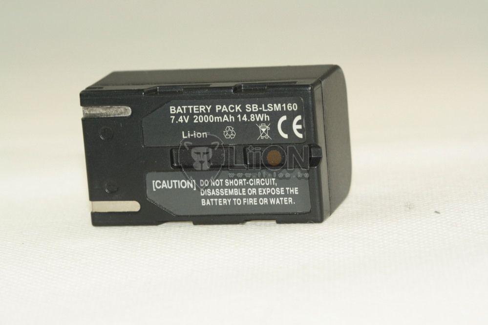 Samsung SB-LSM160 utángyártott kamera akku