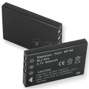 Fuji NP-60 utángyártott kamera akku