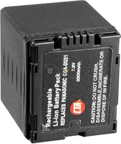 Panasonic CGA-DU21 utángyártott kamera akku
