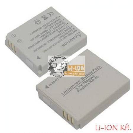 Canon NB-4L Batterie – Ersatz