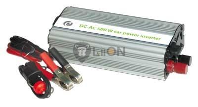 Inverter 12V-220V 500W USB csatlakozás