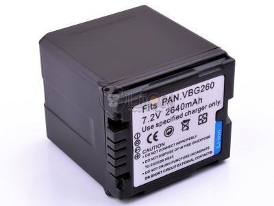 Panasonic VW-VBG260 utángyártott kamera akku