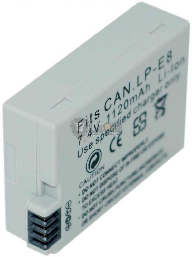 LP-E8 akku Canon kamerához