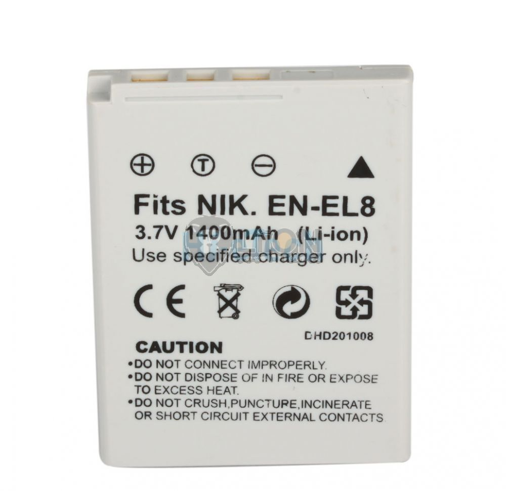 Nikon EN-EL8 utángyártott kamera akku