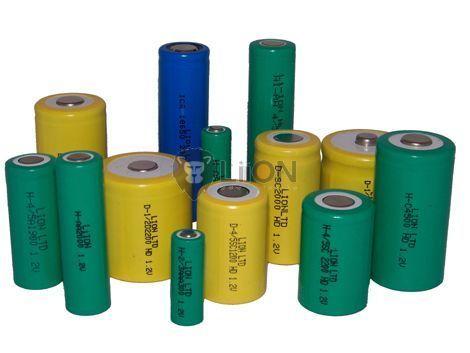 80BVH3A3H Speicherbatterie mit 3 Beinen Panel 3,6 V 80mAh Ni-Mh