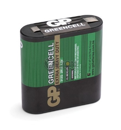 GP 4,5V laposelem Greencell