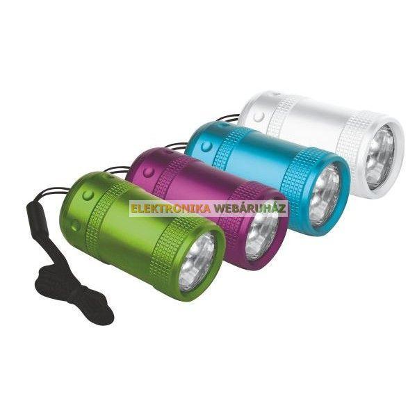 6 LED fém rúdlámpa