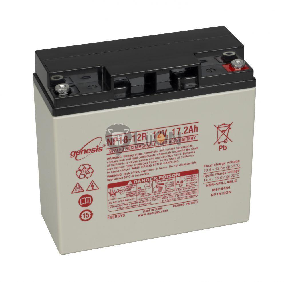 Genesis NP 12V 18Ah akkumulátor