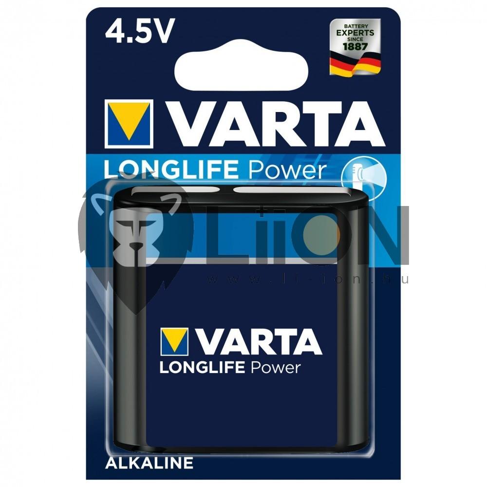 Varta High Energy lapos elem 4,5V