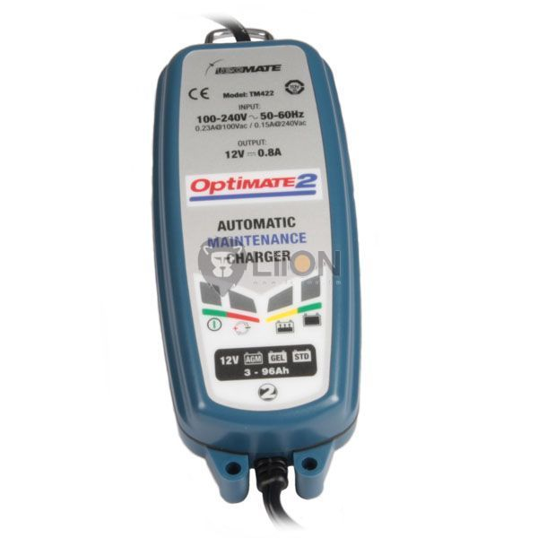 OptiMate2 automatic battery charger and maintainer