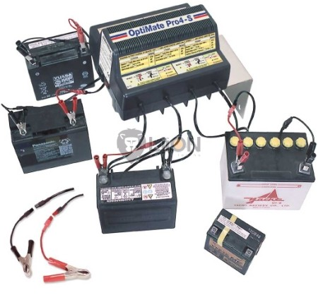 OptiMate Pro4-S akkumulátor diagnosztizáló töltő, regenerátor