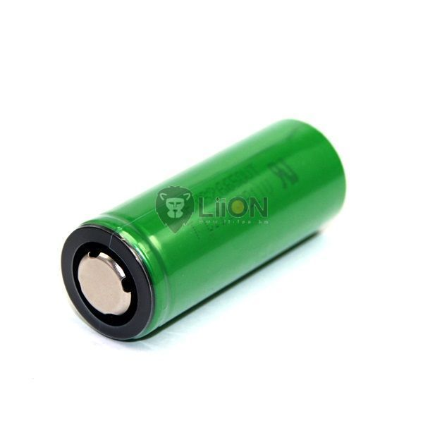 Li-Ion-ICR 26650 3,7 V 3300mAh Batterie-Zelle