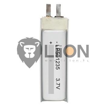 Li-polymer 401230 3,7V 105mAh akku