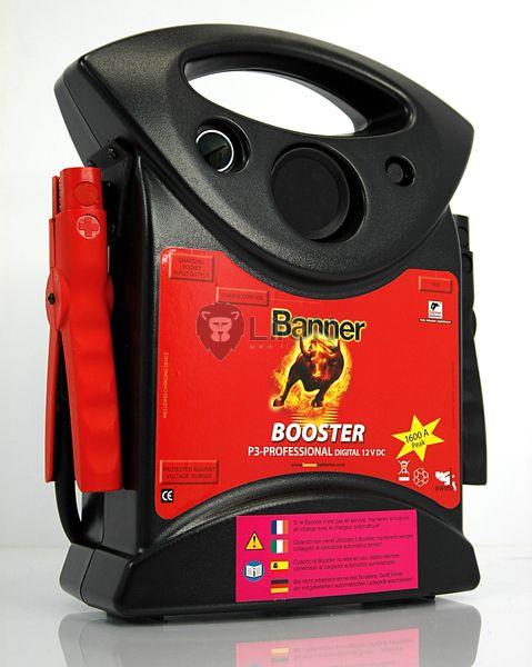 Banner P3 Professional bikázó készülék - Banner Start Booster indítási segítő - 1600A