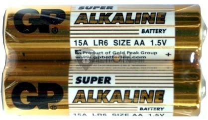 GP Super alkáli ceruza elem fóliás 15A