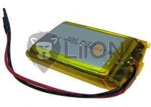 Li-polymer 103450 3,7V 1800mAh akku + PCM