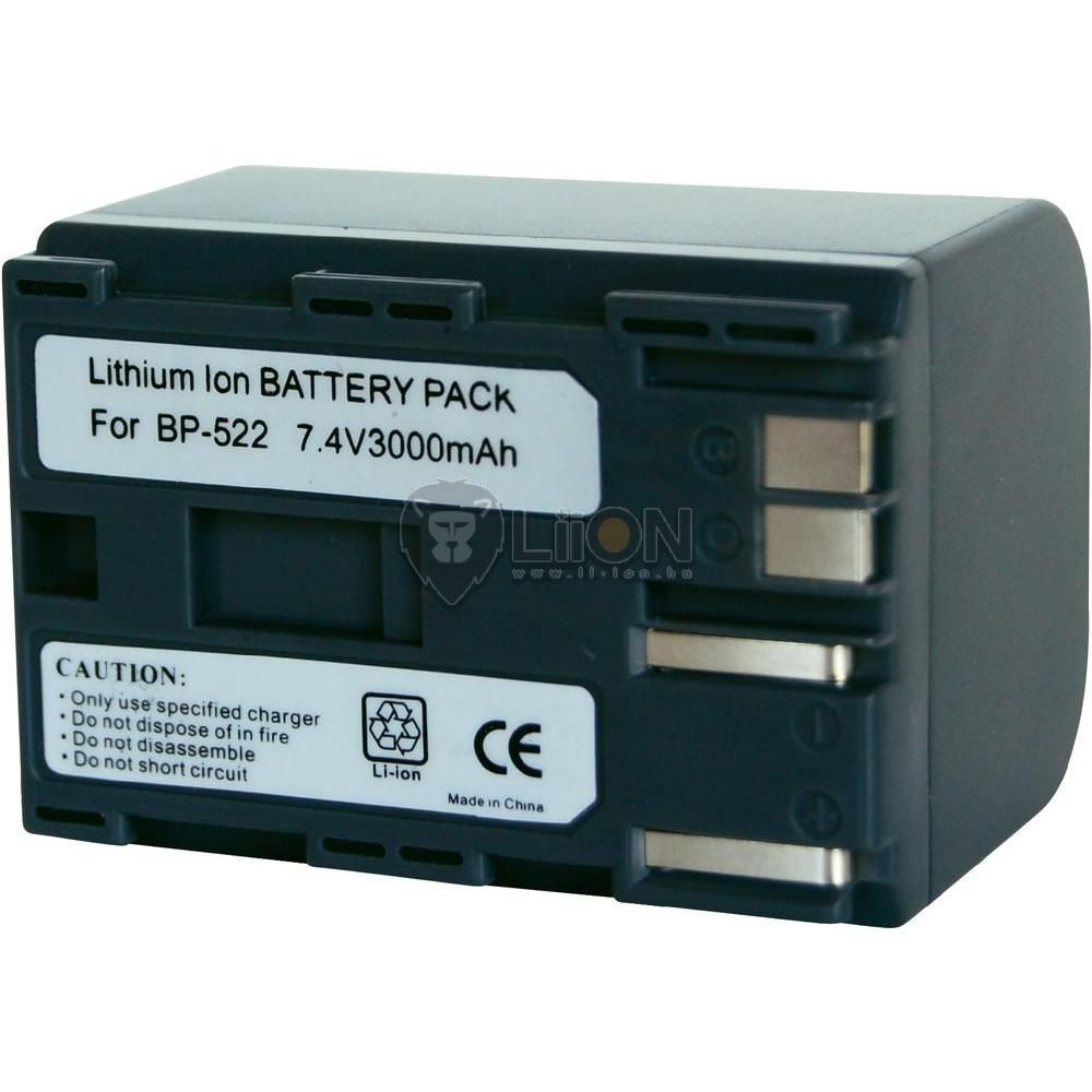 Replacement Camcorder Battery for CANON BP-522