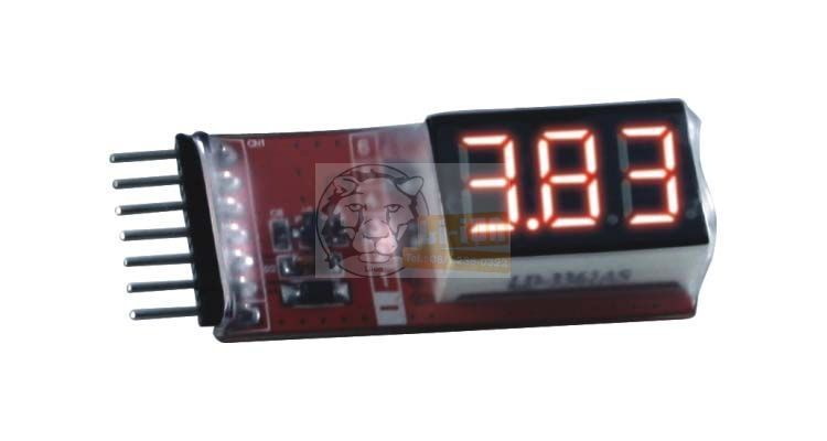 Voltage tester for cells