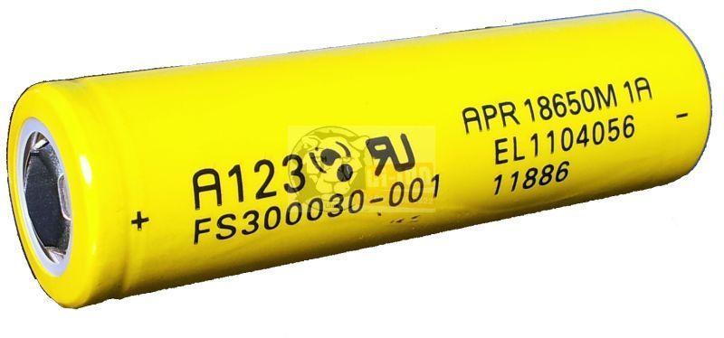 LiFePO4 APR18650 3,3 V 1100mAh Batterie-Zelle
