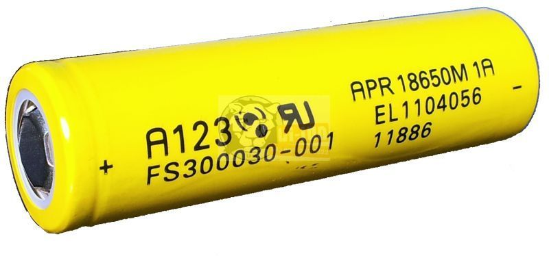 LiFePO4 APR 18650 3,3V 1100mAh battery cell
