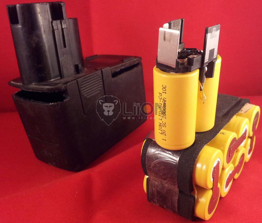 Bosch 3310K 3300mAh akku - felújítás
